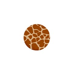 Giraffe Skin Pattern 1  Mini Magnets