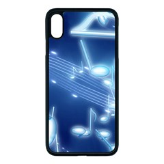 Music Sound Musical Love Melody Iphone Xs Max Seamless Case (black)