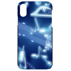 Music Sound Musical Love Melody Iphone Xr Black Uv Print Case by HermanTelo