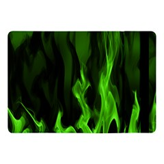 Smoke Flame Abstract Green Apple Ipad Pro 10 5   Flip Case