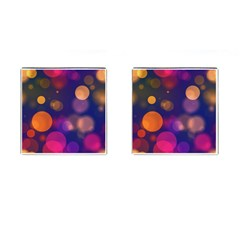 Seamless Pattern Design Tiling Cufflinks (square)