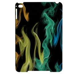 Smoke Rainbow Colors Colorful Fire Apple Ipad Mini 4 Black Uv Print Case by HermanTelo