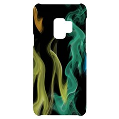 Smoke Rainbow Colors Colorful Fire Samsung S9 Black Uv Print Case by HermanTelo