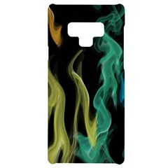 Smoke Rainbow Colors Colorful Fire Samsung Note 9 Black Uv Print Case