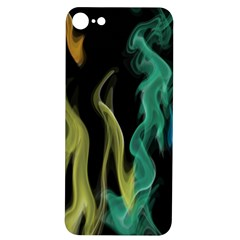Smoke Rainbow Colors Colorful Fire Iphone 7/8 Soft Bumper Uv Case by HermanTelo
