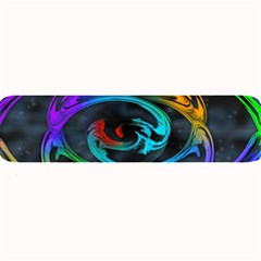 Rainbow Fractal Clouds Stars Large Bar Mats