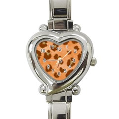 Seamless Tile Background Abstract Heart Italian Charm Watch by HermanTelo