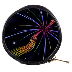 Stars Space Firework Burst Light Mini Makeup Bag