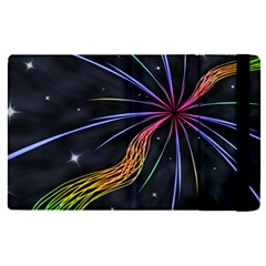 Stars Space Firework Burst Light Apple Ipad Mini 4 Flip Case