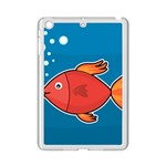 Sketch Nature Water Fish Cute iPad Mini 2 Enamel Coated Cases Front