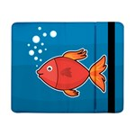 Sketch Nature Water Fish Cute Samsung Galaxy Tab Pro 8.4  Flip Case Front