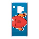 Sketch Nature Water Fish Cute Samsung Galaxy S9 Seamless Case(White) Front