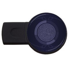 Technology Eye Usb Flash Drive Round (4 Gb) by HermanTelo