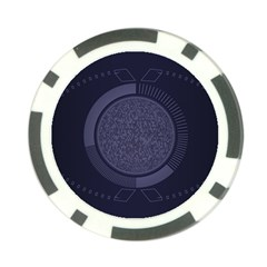 Technology Eye Poker Chip Card Guard