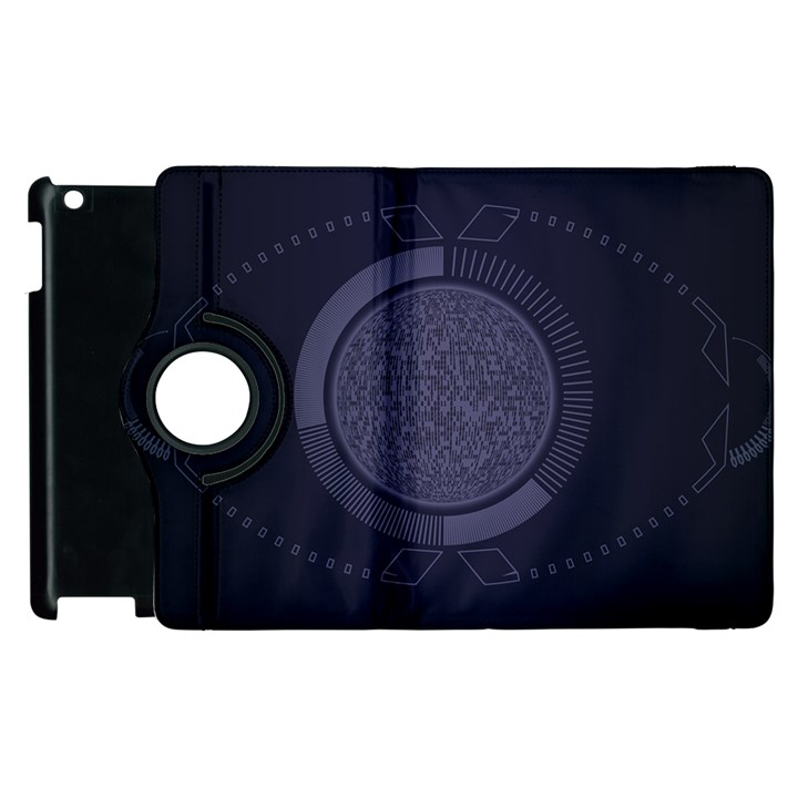 Technology Eye Apple iPad 2 Flip 360 Case