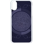 Technology Eye iPhone XS Seamless Case (White) Front