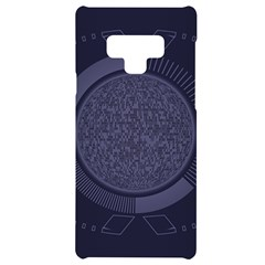 Technology Eye Samsung Note 9 Black Uv Print Case  by HermanTelo
