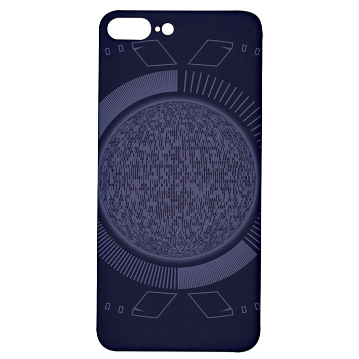 Technology Eye iPhone 7/8 Plus Soft Bumper UV Case