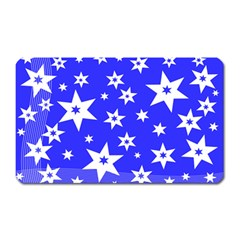 Star Background Pattern Advent Magnet (rectangular) by HermanTelo
