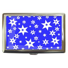 Star Background Pattern Advent Cigarette Money Case by HermanTelo