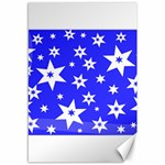 Star Background Pattern Advent Canvas 12  x 18  18 x12  Canvas - 1