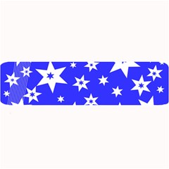 Star Background Pattern Advent Large Bar Mats by HermanTelo