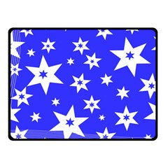 Star Background Pattern Advent Fleece Blanket (small) by HermanTelo