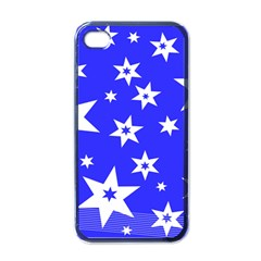 Star Background Pattern Advent Iphone 4 Case (black) by HermanTelo