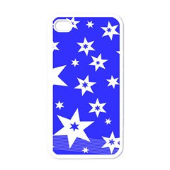 Star Background Pattern Advent Iphone 4 Case (white) by HermanTelo