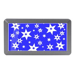 Star Background Pattern Advent Memory Card Reader (mini) by HermanTelo