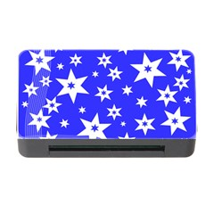 Star Background Pattern Advent Memory Card Reader With Cf by HermanTelo