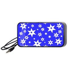 Star Background Pattern Advent Portable Speaker by HermanTelo