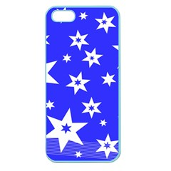 Star Background Pattern Advent Apple Seamless Iphone 5 Case (color) by HermanTelo