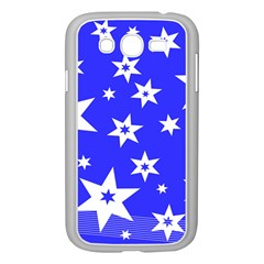 Star Background Pattern Advent Samsung Galaxy Grand Duos I9082 Case (white) by HermanTelo
