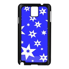 Star Background Pattern Advent Samsung Galaxy Note 3 N9005 Case (black) by HermanTelo