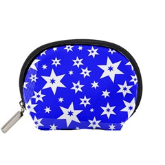 Star Background Pattern Advent Accessory Pouch (small)