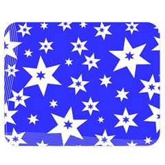 Star Background Pattern Advent Double Sided Flano Blanket (medium)  by HermanTelo