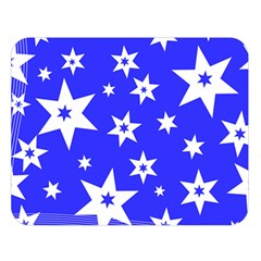 Star Background Pattern Advent Double Sided Flano Blanket (large)  by HermanTelo