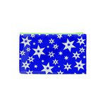 Star Background Pattern Advent Cosmetic Bag (XS) Back