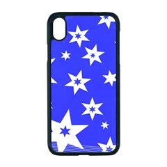 Star Background Pattern Advent Iphone Xr Seamless Case (black) by HermanTelo