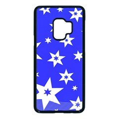 Star Background Pattern Advent Samsung Galaxy S9 Seamless Case(black) by HermanTelo
