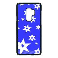 Star Background Pattern Advent Samsung Galaxy S9 Plus Seamless Case(black) by HermanTelo