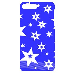 Star Background Pattern Advent Iphone 7/8 Plus Black Uv Print Case by HermanTelo