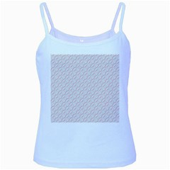 Wallpaper Abstract Pattern Graphic Baby Blue Spaghetti Tank by HermanTelo