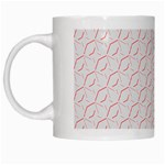 Wallpaper Abstract Pattern Graphic White Mugs Left