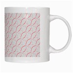 Wallpaper Abstract Pattern Graphic White Mugs Right