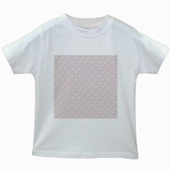 Wallpaper Abstract Pattern Graphic Kids White T Shirts by HermanTelo