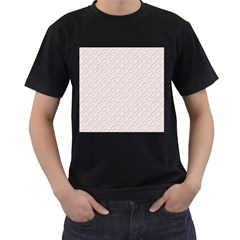 Wallpaper Abstract Pattern Graphic Men s T Shirt (black) (two Sided) by HermanTelo