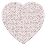 Wallpaper Abstract Pattern Graphic Jigsaw Puzzle (Heart) Front