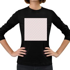 Wallpaper Abstract Pattern Graphic Women s Long Sleeve Dark T Shirt by HermanTelo